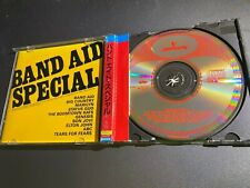 Band Aid Special CD Japan Audiophile 32PD-27 OBI Strip (West Germany Target Era)