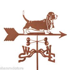 Dog - Basset Hound Weathervane - Weather Vane - Complete w/ Choice of Mount