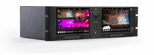 Atomos Shogun Studio II Rackmount 4K Dual Recorder & Monitor ISO 8 Cameras