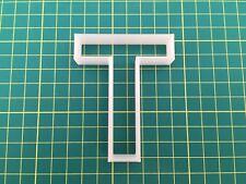 Alphabet Letter T cookie cutter