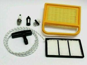 Fits Stihl TS410 TS420 Service Kit Air Filter Plug Primer Pull Cord