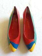 Vintage CHANDLERS Women's Multi-Color Shoes Sz 7.5B