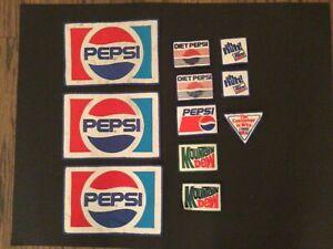 Pepsi Cola Uniform Patches