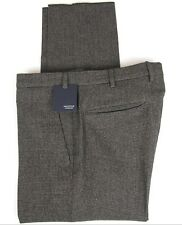Slim New $475 Incotex Blue Solid Pants IN00305584831