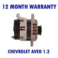 Chevrolet Aveo 1.2 2006 2007 2008 2009 2010 2011-2015 Alternador