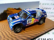 voiture 1/43 Minichamps Dakar  : Volkswagen TOUAREG 2005 #317 Gordon/Zitzewitz