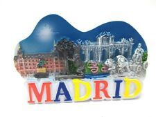 Madrid Magnet Souvenir Spain 3in New