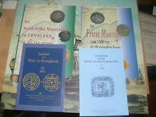 Friesland Medieval + Provincial 4 x Friese munt slag Middeleeuwen - Provinciaal