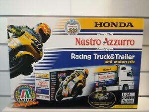 Mercedes Actros Honda HRC Valentino Rossi Camion Moto GP Italeri 3810 Kit 1-24