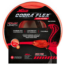 """Milton 50 Foot 1/2"""" ID Cobra Flex Hybrid Heavy-Duty Air Compressor Hose"""