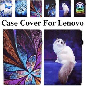 "Flip Folio Stand Safe Case Cover For Lenovo Smart Tab M10 HD FHD Plus 10.1 10.3"""