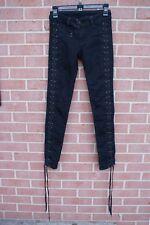 Bebe Women's Black Lace Pants Size 25