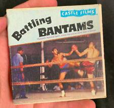 1940S/50S BATTLING BANTAMS BOXING CASTLE FILMS BLACK & WHITE #3046 8MM MOVIE