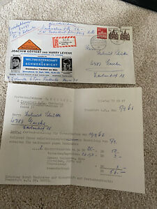 Muhammad Ali Vs Karl Mildenberer Ticket Order And Envelope