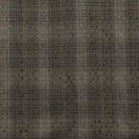 "Vtg Nubby Cotton Fabric Gray Plaid 45"" Wide"