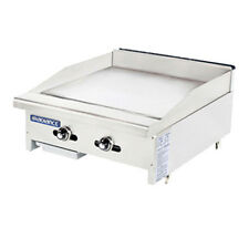 """Turbo Air Tatg-24 Radiance 24"""" Wide Gas Countertop Griddle"""