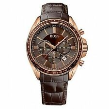 Hugo Boss 1513093 Men's Chronograph Leather  Quartz Watch