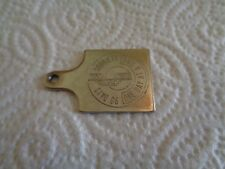 RARE VINTAGE 90 DAYS SOBRIETY ONE DAY AT A TIME FOB DOG TAG CHARM