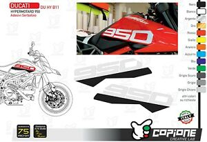Graphic For DUCATI Hypermotard 950 Apply On Tank - Du Hy B11