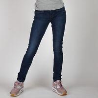 Levi's Mid Rise Skinny Blau Damen Jeans W28 L32