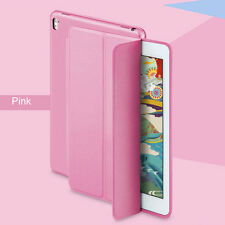 Ultra thin Leather Smart Cover with Stand case for Apple ipad 9.7 10.5 2017 2/3