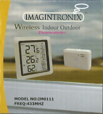 Sans fil intérieur/extérieur Thermomètre Humidité Moniteur