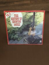 Vol 2 The History Of Country Music Sealed Vinyl