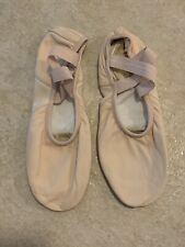 Leather Ballet Shoes Pink Size 7.5M With Box