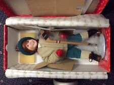 "Ashton Drake Doll Winterfest ""Brian� CoA #8927 1991 New In Box with Stand"