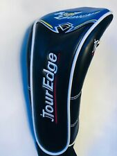 Tour Edge Hot Launch 3 Wood Fairway Metal Black Blue Golf Club Headcover