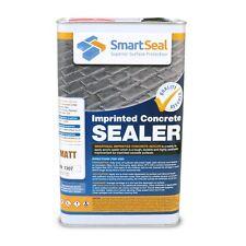 Smartseal Imprinted Concrete Sealer - MATT FINISH - 5 Litres