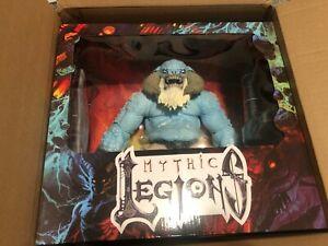 Mythic Legions Ice Troll NEW SEALED