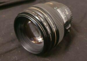 Canon Objektiv EF 85mm 1:1,8 (gebraucht, Optik gut, Autofokus nicht in Ordnung)