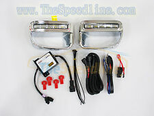 2012 2013 MINI COOPER PACEMAN R61 Chrome LED DRL Daytime Runing Light Grille