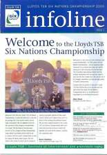 SIX NATIONS CHAMPIONSHIP INFOLINE No 1 2000 RUGBY NEWSLETTER ITALY'S RESULTS