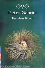GENESIS PETER GABRIEL 2000 OVO BEAUTIFUL PROMO POSTER ORIGINAL
