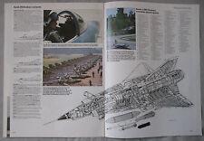 Warplane magazine Issue 101 Saab Draken cutaway drawing & poster
