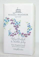 Woods of Windsor Blue Orchid & Water Lily 250g PERFUMED SOAP/SAPONE