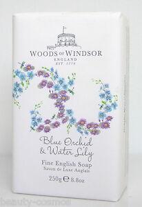 Woods of Windsor Blue Orchid & Acqua Lily 250 G Profumato Sapone / Soap