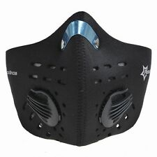 RockBros Cycling Anti-dust Half Face Mask with Filter Neoprene Black One Size