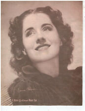 "NORMA SHEARER autograph -1938 Original Publicity Photograph ""DELUXE DOUBLE BILL"""