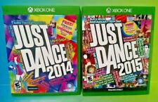 Just Dance 2014 + 2015 - Microsoft Xbox One Game - Tested ! XBOX 1 (1-6 Players)