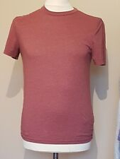 TOPMAN MENS SMALL RED T SHIRT T3