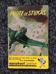 MARABOUT JUNIOR N°39/HANS.U.RUDEL/PILOTE DE STUKAS  illustration JOUBERT