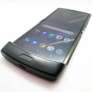 (New Handset Only) Motorola Razr 2019 Locked to EE UK eSim Black 128GB+6GB Flip