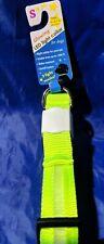 Adjustable LED Nylon Pet Dog Collar Light Up Flash Night Safety With LED Leash