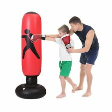 Whirlgee Inflatable Punching Bag for Kids Adult, 63Inch Decompression Fitness.