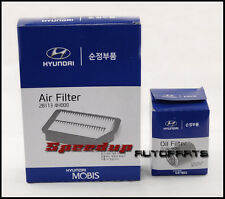 Genuine Hyundai iLoad 2.5L CRDi Air & Oil Filter Combo 28113-4H000, 26330-4X000