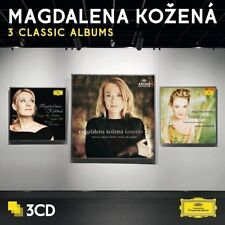 Magdalena Kozena Three Classic Albums 3 x CD