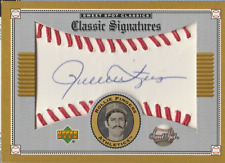 Rollie Fingers 2002 UD Sweet Spot Classics Signatures autograph auto card S-RF